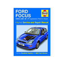 Ford Focus 1.4 1.6 1.8 2.0 Petrol 1.8 TD 98-01 (S to Y Reg) Haynes Manual