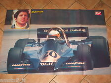 # POSTER JODY SCHECKTER WOLF WR-1 COSWORTH 1978 CM.90X60