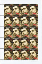 "CHE97-F : ARGENTINA Sheet of 20 stamps ""30the anniversary of CHE GUEVARA"" 1997"