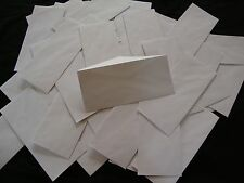"100 no. 10 Security Letter Envelopes Top Flight White 4.1""x9.5"" Tinted Paper"