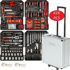 Tool Box Set Trolley Custodia MECCANICA KIT ALLUMINIO Organizer KIT ARMADIO GRANDE BIG