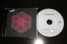 Coldplay - Everglow 2016 Single Version - 1 Track EU Promotional (Promo) CD
