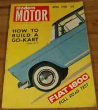 1960.MOTOR.'57 FE HOLDEN UTE.FIAT 600.Fiat 1800.Rover 100.Hovercraft.GO-KART