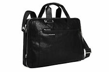 Piquadro Up2Date Black Expandable Computer Bag, 2 handles and...--- CA1429UP/N
