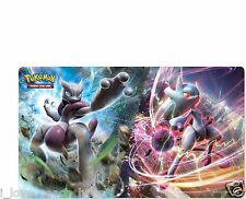 Pokemon Mega Mewtwo PLAYMAT PLAY MAT Featuring Mega Mewtwo X and Y