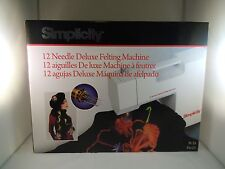 BRAND NEW DELUXE FELTING MACHINE (EMBROIDERY, STITCHING)