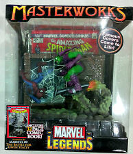"Marvel Legends Master Works - 6"" Spiderman VS Green Goblin (MISB, Toy Biz)"