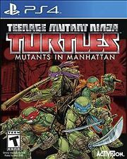 Teenage Mutant Ninja Turtles Mutants in Manhattan TMNT (PS4) Complete! Free Ship