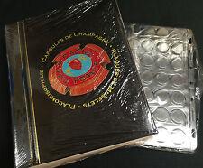 ALBUM POUR CAPSULE DE CHAMPAGNE POUR 175 PLAQUES DE MUSELET