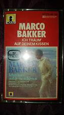 Musikkassette Marco Bakker / Ich träum auf deinem Kissen - Album