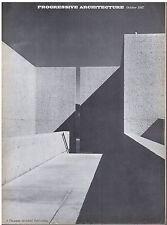 rivista - PROGRESSIVE ARCHITECTURE ANNO 1967 NUMERO 10