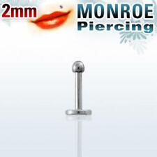 Pick Ur Set/Lot - Labret Monroe Lip Studs - Jewel Star Gem Crystal Bio Flexible