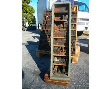 VINTAGE LETTERPRESS FURNITURE CABINET WITH A LOT OF FURNITURE MAYBE HAMILTON #3
