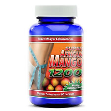 MaritzMayer Pure Super African Mango 1200mg Pills Diet Weight Loss Extract Fresh