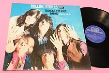 ROLLING STONES LP THROUGH THE PAST ITALY '70