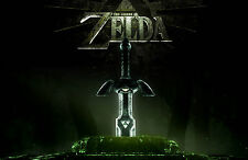 A4 Poster – The Legend of Zelda (Gaming XBOX ONE 360 PS3 PS4 Nintendo Wii Art)