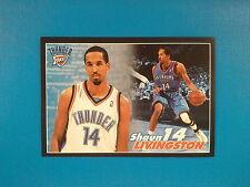 2009-10 Panini NBA Basketball n.234 Shaun Livingston Oklahoma City Thunder