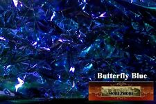 M00224 MOREZMORE Angelina Fantasy Film BUTTERFLY BLUE Heat Bondable 50' A60