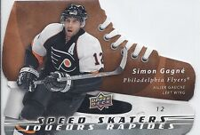 2008-09 UD MCDONALD'S SIMON GAGNE SPEED SKATERS UPPER DECK SS7 FLYERS