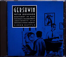 Peter DONOHOE Simon RATTLE: GERSHWIN Rhapsody in Blue Piano Concerto Songbook CD