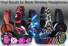 Choose Any 2 Vinyl Skins for Monster Beats Wireless by Dr. Dre -Free US Shipping