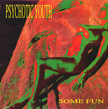 PSYCHOTIC YOUTH Some Fun LP SEALED VINYL SKYCLAD