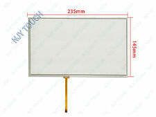 "10.1 Inch 4 Wire Resistive Touch Screen Panel Glass for 10.1"" B101AW03 235x145mm"