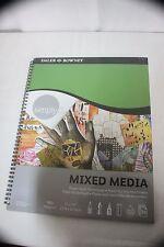 Mixed Media Art Pad 20 Acid Free Sheets 11X14 in.  98lb Daler Rowney NWT NEW