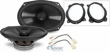 """NVX VSP69 6x9"""" 200W RMS Car Speaker Install Package for Select 2002-14 Toyota"""