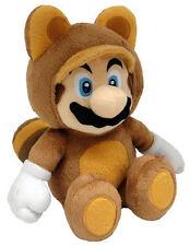 Super Mario Tanooki version Plush Nintendo 21 cm. TOGETHER