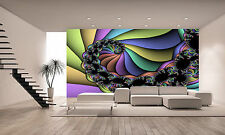 Spiral Fractal Wall Mural Photo Wallpaper GIANT WALL DECOR PAPER POSTER