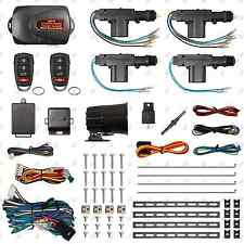 Remote Car Alarm Keyless Entry Security 2 & 4 Door Power Lock Actuator Motor Kit