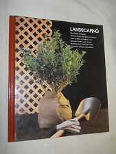 Home Repair and Improvement: Landscaping by Time-Life Books (1983, Hardcover)