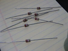 Lot of 50 Striped Brown Tone Capacitors 2.2 pF +/- 5% NOS VINTAGE