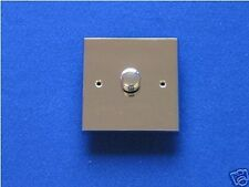 DIMMER LIGHT SWITCH POLISHED CHROME Free Delivery