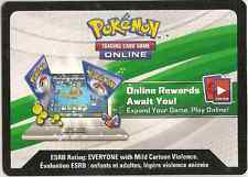 Pokemon TCG ONLINE Code Red & Blue Collection: PIKACHU EX  - free shipping