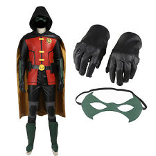 New Style Popular Justice League vs Teen Titans Robin Cosplay Costume Full Suit