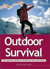 OUTDOOR SURVIVAL:The Essential Guide to Equipment & Techniques:Gear-Food-etc NEW