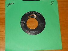 "POP 45 RPM - MONTY BABSON - RCA 47-7724 - ""CRAZY SHE CALLS ME / QUARTER TO FIVE"""