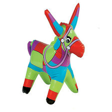 "18"" gonflable donkey sauter animal fiesta espagnole pinata party jouet piscine jouets"