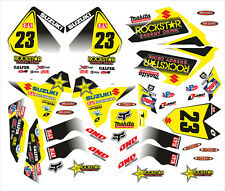 DECAL STICKER KIT IN MX VINYL FITS SUZUKI LTR450 LTR 450 WIMMER (NON OEM)