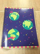 *RARE* Sanrio Earth Globe Space Spiral Bound Planet Notebook Vintage New