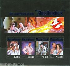 "MOZAMBIQUE 2014 ""MOVIES GHOSTBUSTERS 30TH RELEASE ANNIVERSARY"" SHEET"