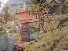 """Charles Peterson""""Days of Summer"""" 12 x 16 1/2 image size Encore Edition Signed"""