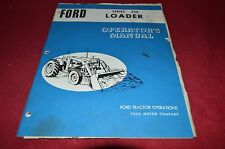 Ford Tractor 730 Loader Operator's Manual YABE8