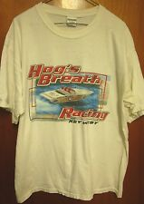 HOG'S BREATH RACING beat-up T shirt XL tee Key West Saloon tavern Florida 1990s
