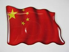 Magnet China Fahne Flagge,Souvenir Fridge,NEU,7,5 cm
