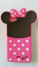 Silicone Cover per cellulari MINNIE para WIKO RAINBOW JAM