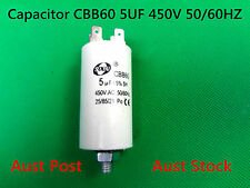 Four Pin CBB60 AC 450V 50/60Hz 5UF 25/85/21 Appliance Motor Run Capacitor (G36B)