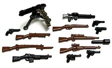 BrickArms WWI BATTLEFRONT PACK for Lego Minifigures -Battlefield Guns - NEW